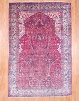 Herat Oriental Antique Persian Bakhtiari Wool Rug- 3463