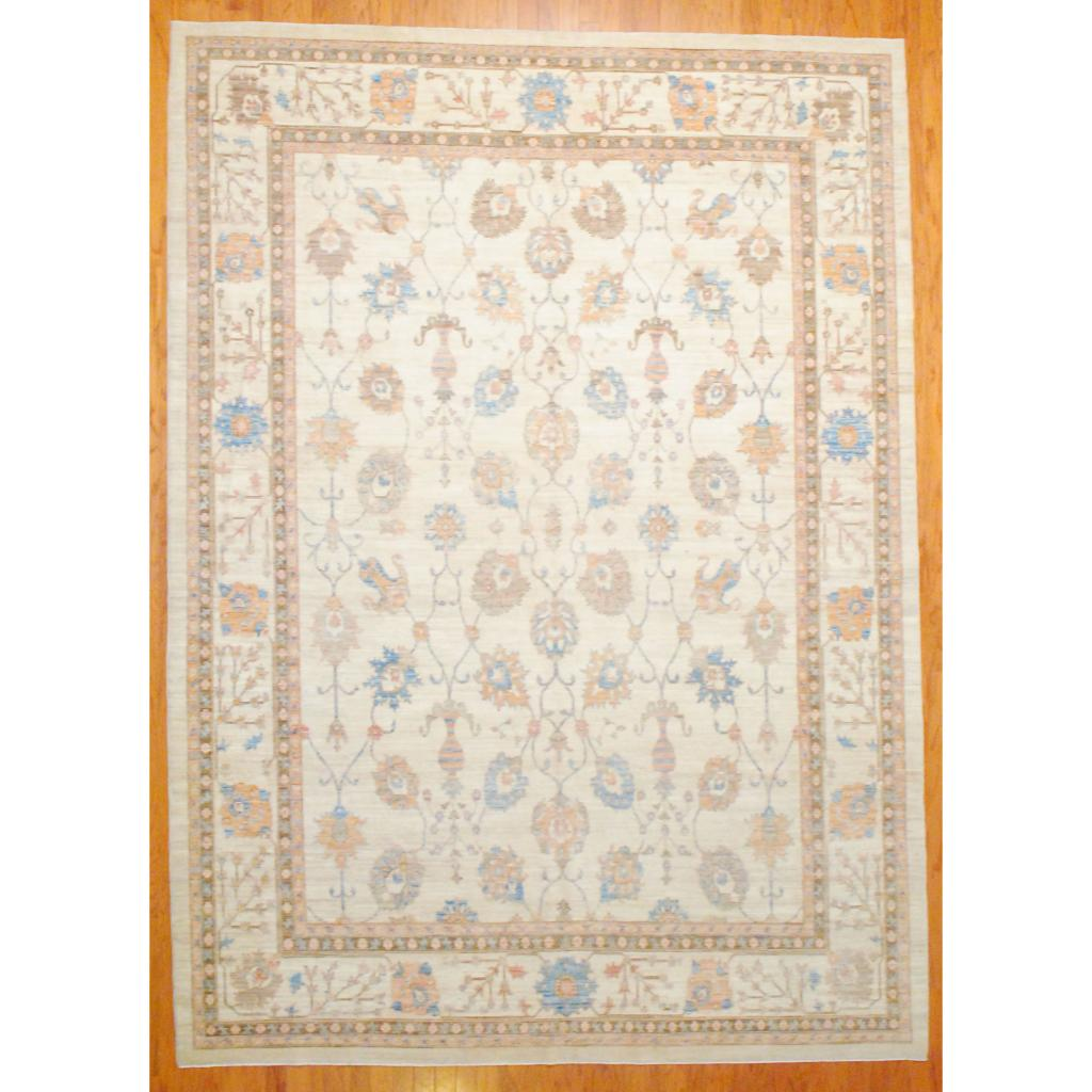 Afghan Hand Knotted Vegetable Dye Wool Rug 9 X 12 5 Herat