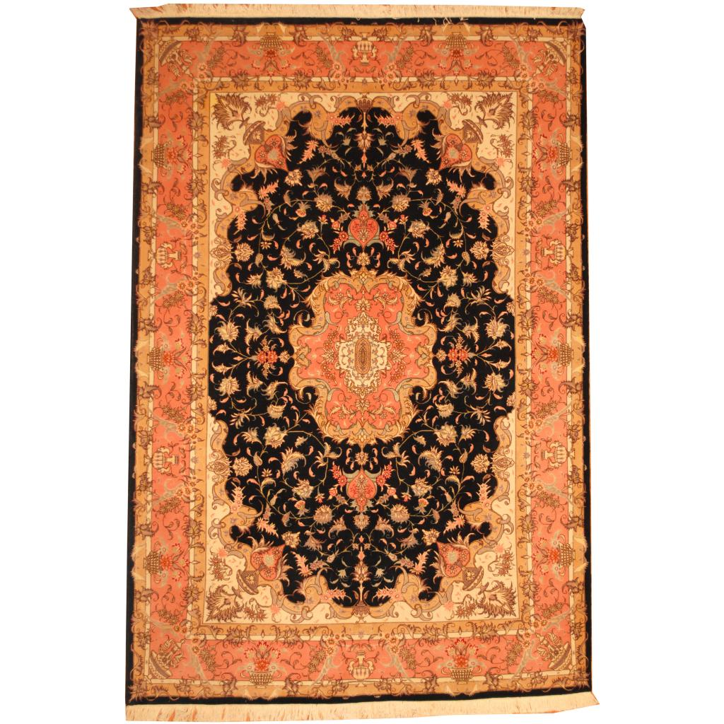 Persian Hand Knotted Tabriz 6 8 X 10 Herat Oriental Rugs