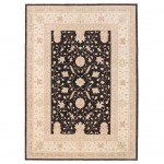 Afghan Hand-knotted Vegetable Dye Oushak Wool Rug (8'1 x 11'4) 1