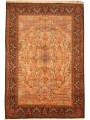 Persian Hand-knotted Tabriz (6\'8 x 10\') 1