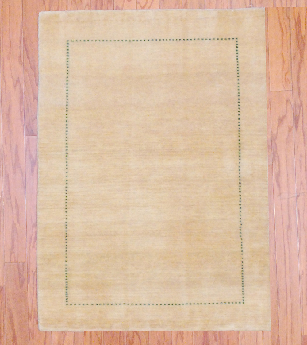 Shop Oriental Persian Gabbeh Shades Of Orange Hand Knotted: Indo Hand-knotted Fine Gabbeh (2'7 X 3'6)