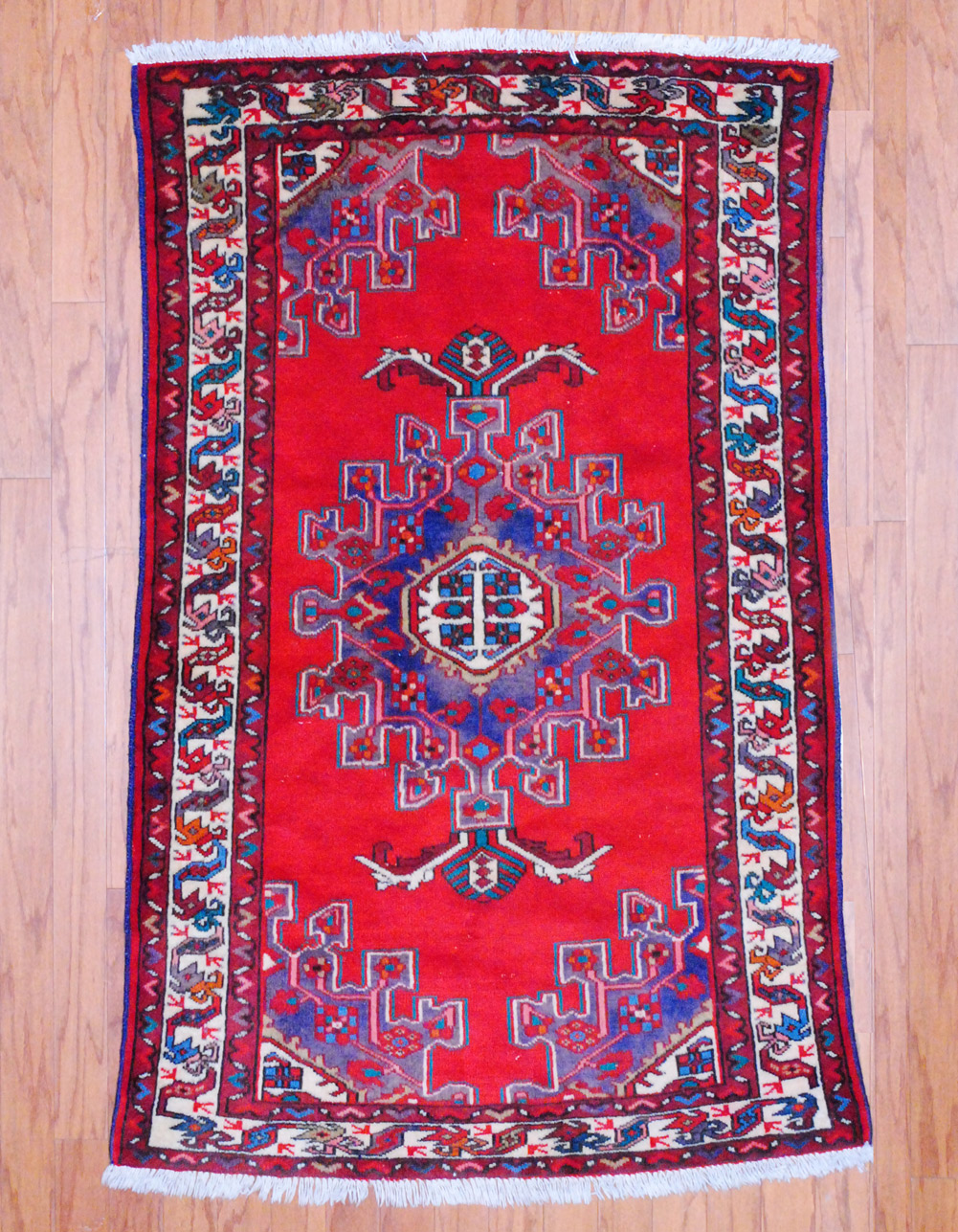 Persian Hand Knotted Isfahan 6 10 X 12 3 Herat