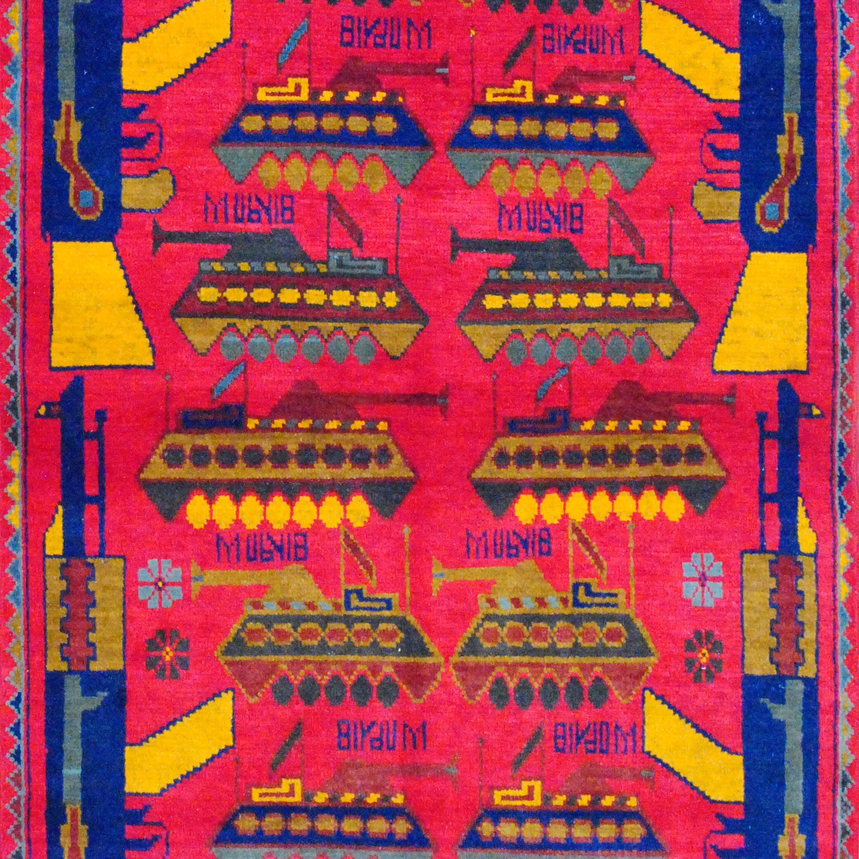 Herat Oriental Afghan War Rug 32/207