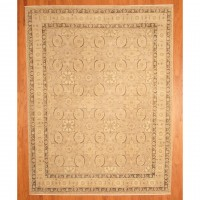 Herat Oriental Afghan Vegetable Dye Rug 44-26L (9 x 11'7)