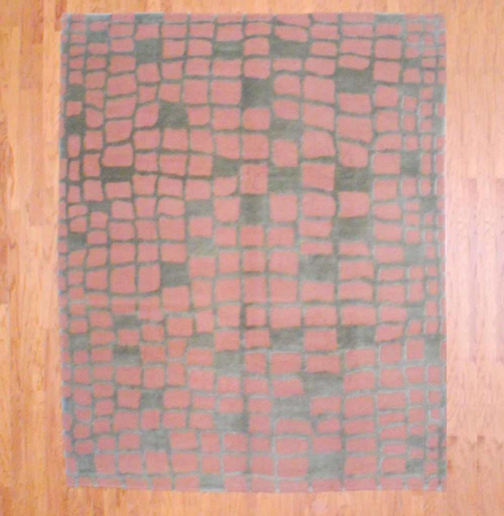 Nepalese Hand-knotted Tibetan (8' X 10')