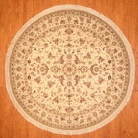 Sino Hand-knotted Tabriz (8' x 8') 1