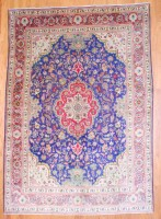 Persian Hand-knotted Tabriz (8'6 x 12') 1
