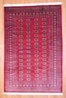 Pakistani Hand-knotted Bokhara (6' x 9') 1