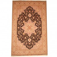 Persian Hand-knotted Tabriz (6'10 x 10'4) 1