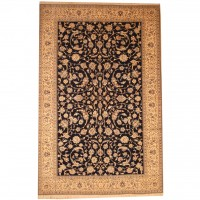 Persian Hand-knotted Naeen (6'9 x 10'6) 1