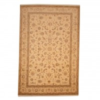 Persian Hand-knotted Tabriz With Silk (6'8 x 10') 1