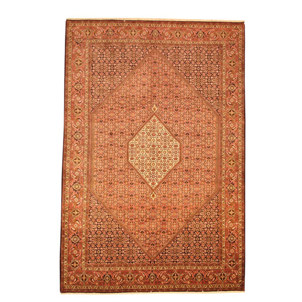 Persian Hand Knotted Bidjar Wool Rug 6 7 X 9 9 Herat