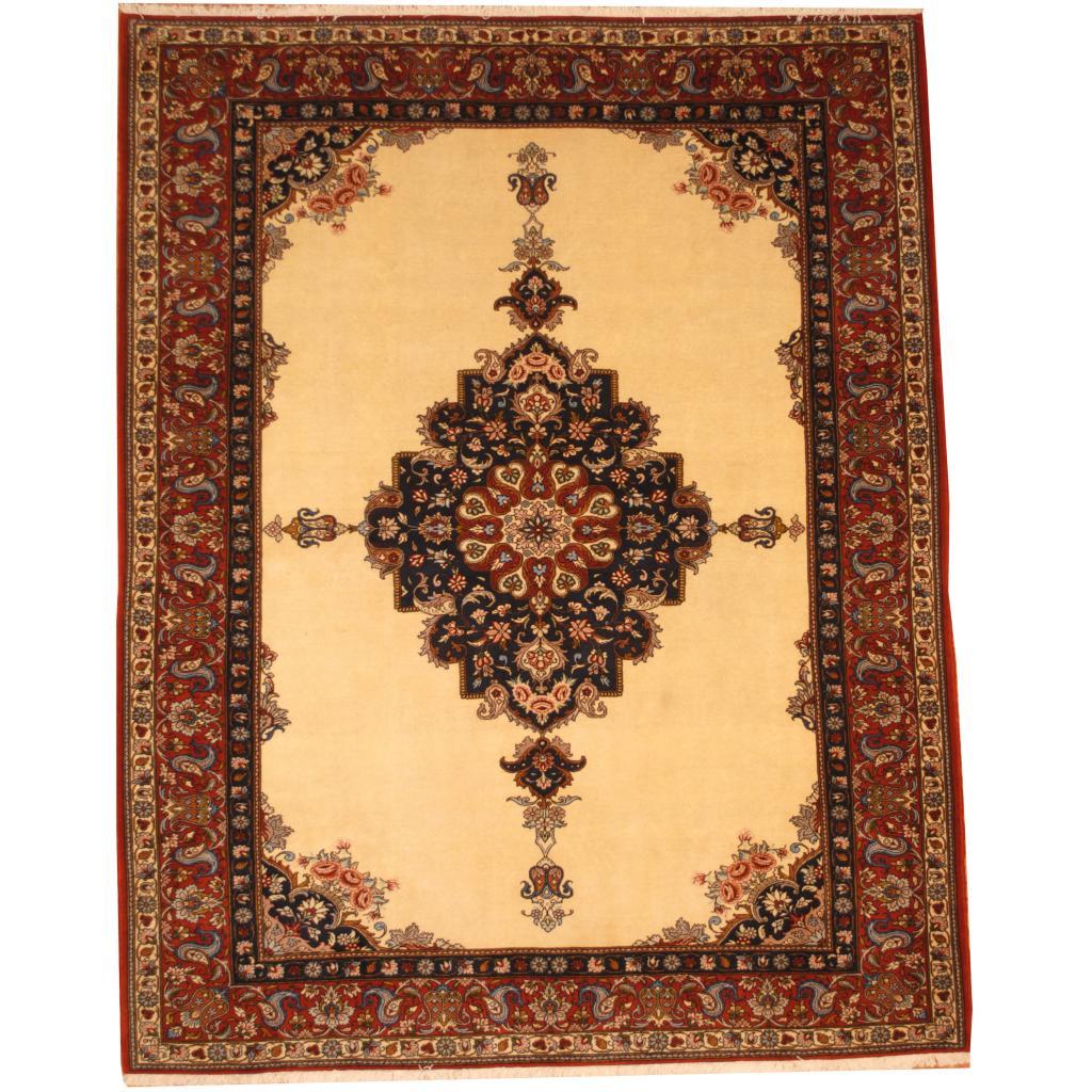 5 X 6 Vintage Kazak Persian Oriental Wool Hand Knotted: Persian Hand-knotted Bakhtiari (7' X 9')
