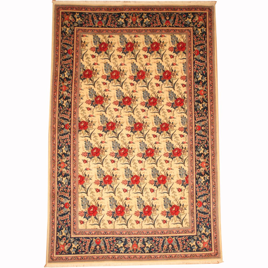 Shop Oriental Persian Gabbeh Shades Of Orange Hand Knotted: Persian Hand-knotted Mashad (6'5 X 9'10)