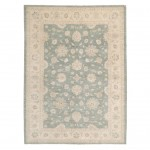 Afghan Hand-knotted Vegetable Dye Oushak Wool Rug (8'1 x 11'1) 1