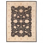 Afghan Hand-knotted Vegetable Dye Oushak Wool Rug (9'11 x 13') 1