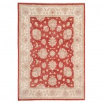 Afghan Hand-knotted Vegetable Dye Oushak Wool Rug (8'1 x 11'6) 1