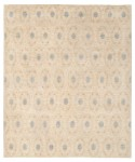 Afghan Hand-knotted Vegetable Dye Ikat Wool Rug (8'2 x 9'8) 1