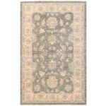 Afghan Hand-knotted Vegetable Dye Oushak Wool Rug (3'1 x 4'10) 1
