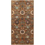 Afghan Hand-knotted Vegetable Dye Suzani Wool Rug (5' x 10') 1