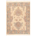 Afghan Hand-knotted Vegetable Dye Tabriz Wool Rug (2' x 2'9) 1