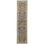 Afghan Hand-knotted Vegetable Dye Tabriz Wool Rug (2'10 x 12') 1