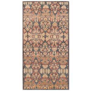 Afghan Hand-knotted Vegetable Dye Khotan Wool Rug (5' x 9'7) 1