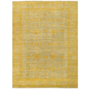 Afghan Hand-knotted Vegetable Over-Dye Oushak Wool Rug (9'9 x 12'9) 1