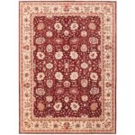 Afghan Hand-knotted Vegetable Dye Oushak Wool Rug (8'11 x 12') 1