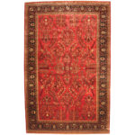 Indo Persian Hand-knotted Sarouk Wool Rug (11'8 x 18'1) 1