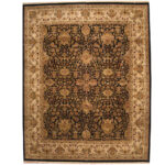 Indo Persian Hand-knotted Khorasan Wool Rug (12'1 x 15'1) 1