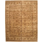 Indo Persian Hand-knotted Khorasan Wool Rug (12'1 x 15'3) 1