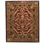 Indo Tibetan Hand-knotted Aubusson Wool Rug (12'2 x 15'2) 1