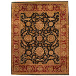 Indo Persian Hand-knotted Khorasan Wool Rug (11'9 x 15') 1