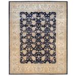 Afghan Hand-knotted Vegetable Dye Wool Rug (12'4 x 15') 1