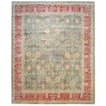 Afghan Hand-knotted Vegetable Dye Wool Rug (12' x 14'10) 1