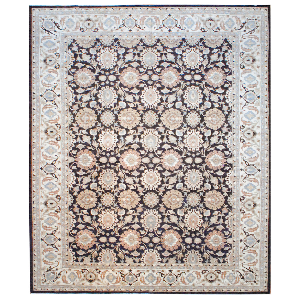 Afghan Hand-knotted Vegetable Dye Wool Rug (12′ x 14'6)