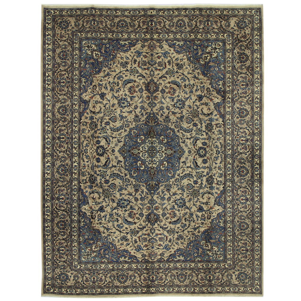 Persian Hand-knotted Kashmar Wool Rug (9'9 x 12'8)