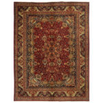 Persian Hand-knotted Kashmar Wool Rug (9'8 x 12'10) 1