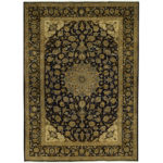 Persian Hand-knotted Tribal Isfahan Wool Rug (9'9 x 13'6) 1