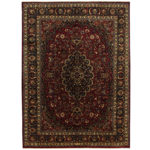 Persian Hand-knotted Tribal Mashad Wool Rug (9'10 x 13'5) 1