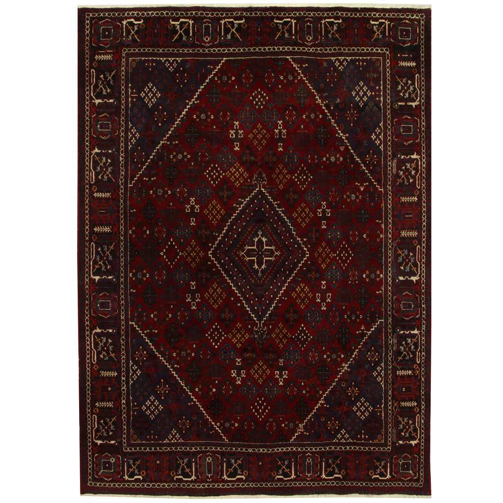Persian Hand Knotted Tribal Joshegan Wool Rug 8 5 X 11 7 Herat