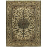 Persian Hand-knotted Tribal Isfahan Wool Rug (9'10 x 13') 1