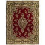 Persian Hand-knotted Tribal Kerman Wool Rug (9'10 x 13'2) 1