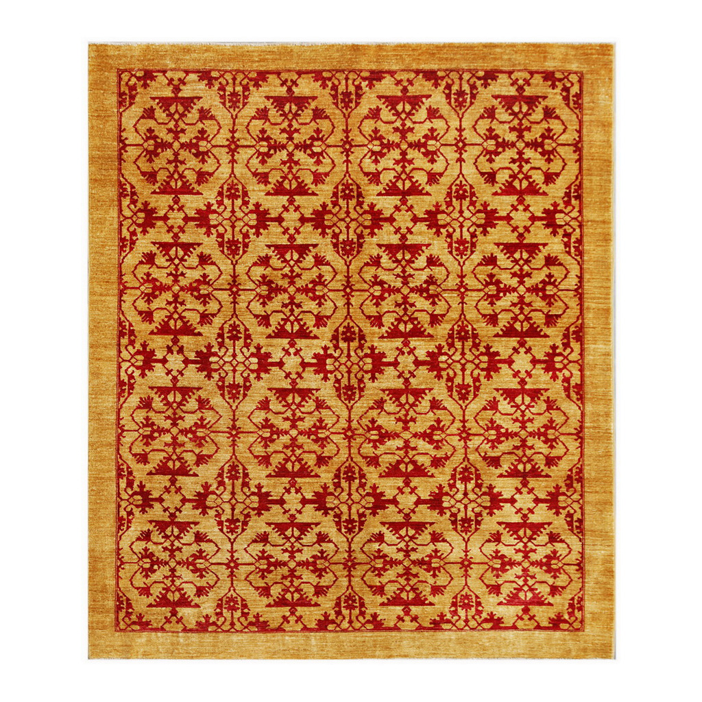 Afghan Hand Knotted Vegetable Dye ...