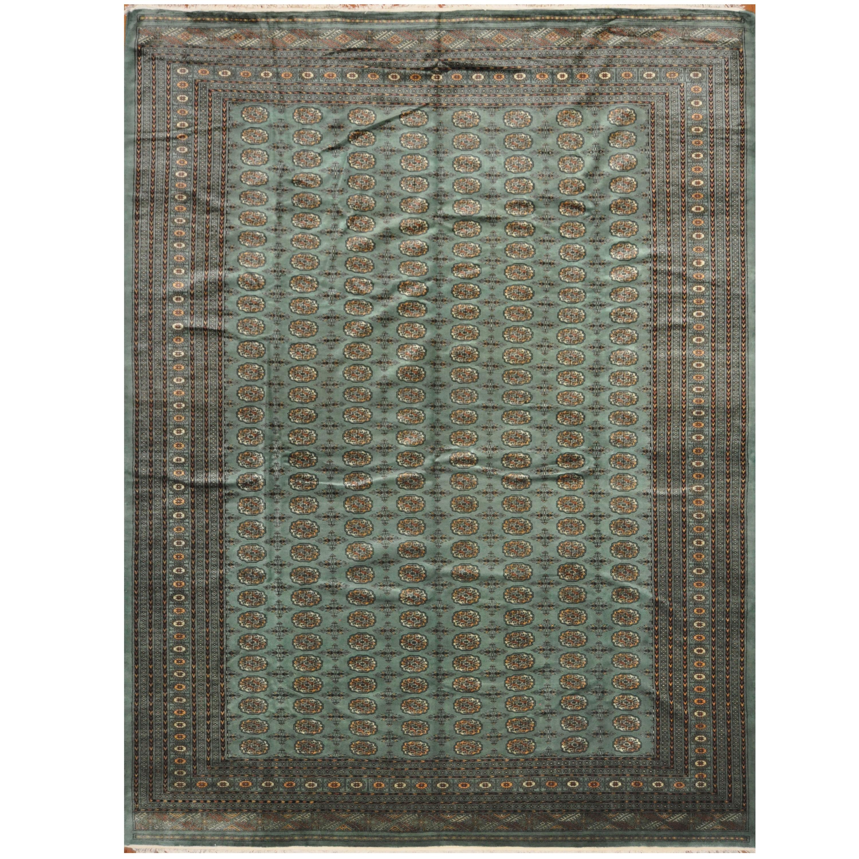 Pakistani Hand-knotted Bokhara Wool Rug (10'7 x 14')
