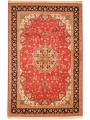 Persian Hand-knotted Tabriz (6\'7 x 10\'2) 1